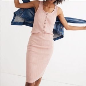 NWT MADEWELL PINK Pencil skirt size XS